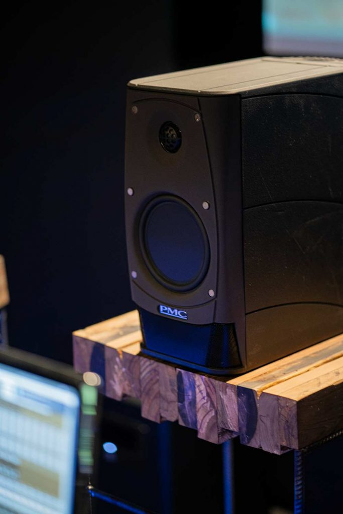 Noisy Post Studio Surround Sound PMC Monitors